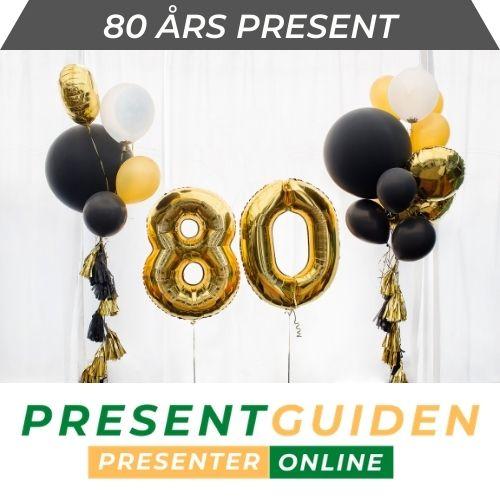 80 års present - Presenttips till 80-åring