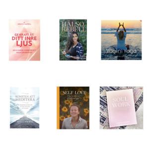 Böcker meditation och välmående