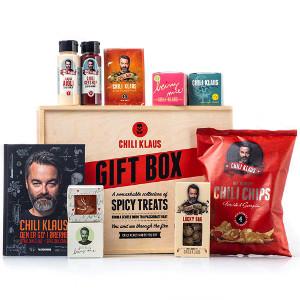 Chili Klaus presentbox - Presenttips till den som gillar chili