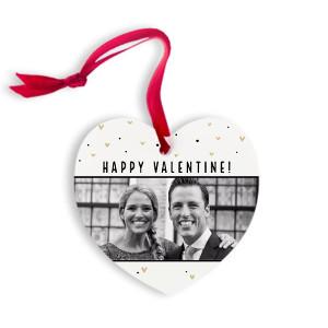 Hjärta i aluminium - Romantisk gåva bröllop. alla hjärtans dag. Mors dag. fars dag