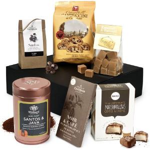 Kaffelådan - Delikatesslåda till den som älskar kaffe - Presenttips kaffe