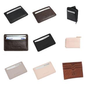 Korthållare läder - Graverade presenter
