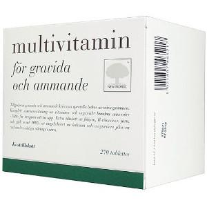 Multivitamin för gravida & havande kvinnor - Nyttiga presenter till gravida