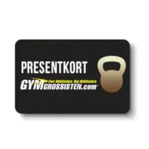 Presentkort på träningskläder kosttillskott - Bra sista minuten present till personen som älskar träning