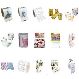 Roligt toalettpapper - Billig present 50 kr