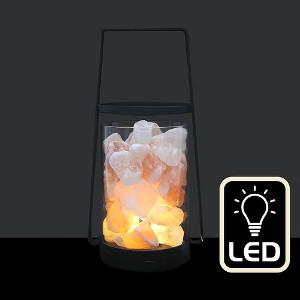 Saltlampa LED - Mysig present