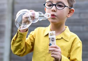 Såpbubblor med foto - Present till barn