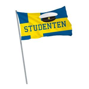 Studentflagga - Att ge studenten vid utspringet