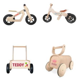 Träleksaker för barn - Present 1, 2, 3, 4 åringar