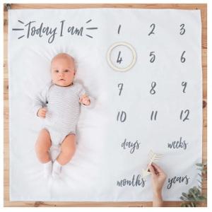 Åldersfilt - Bra present till nyfödd bebis