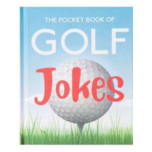 Bok med golfskämt - Present till golfare