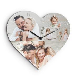 Klocka hjärtformad - Personliga kärlekspresenter