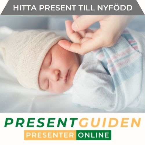 Present till nyfödd - Bra presenter för bebis