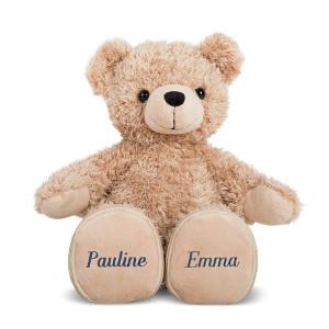 Vänskapsbjörn med namn - Present som symboliserar vänskap