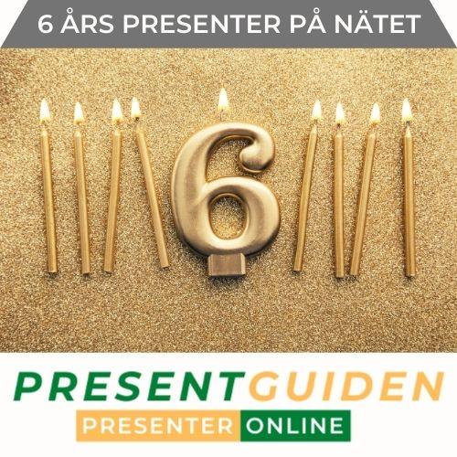 6 års present - Tips till 6 åring