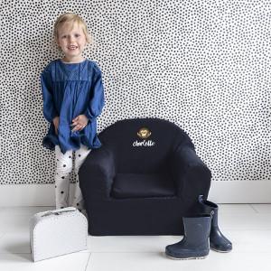 Barnstol med namn - Present till barnrum
