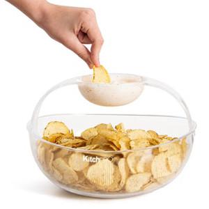 Chips och dippskål - Present till chipsfantast