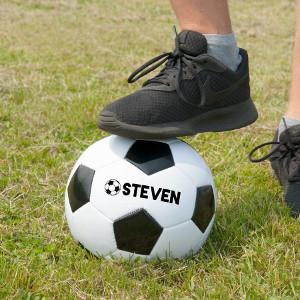 Fotboll med namn - Present till fotbollsspelare