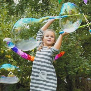 Megaset för såpbubblor - Roliga presenter till barn