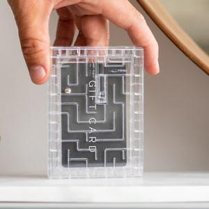 Money Maze - Kreativt sätt att ge bort presentkort på