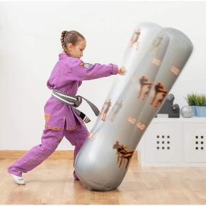 Uppblåsbar boxningssäck - Present till barn