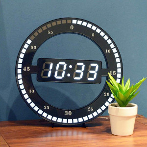 Väggklocka med LED - Presenttips klocka